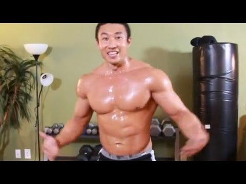 INSANE 1 minute workout - can you survive it? AWESOME W.O, YES that's a buff guy but this is versatile, its great for burning fat!! Just do it