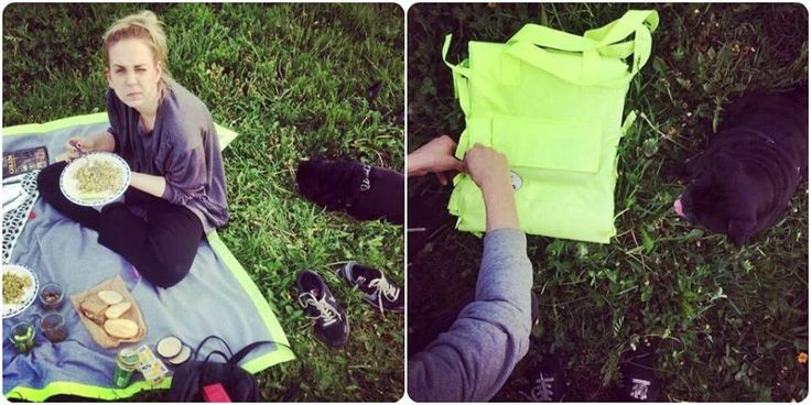 #picnic #picnicday #blanket #picnicblanket #picnicrug #picnicbag #handmade #design #food #pug