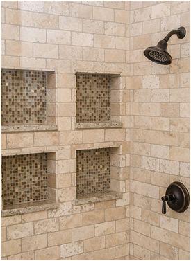 Best 25 travertine shower ideas on pinterest for Tumbled marble bathroom designs