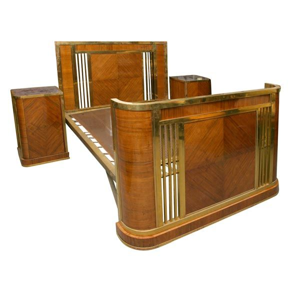 French Art Deco Bed Art Deco Furniturevintage Furniturebedroom