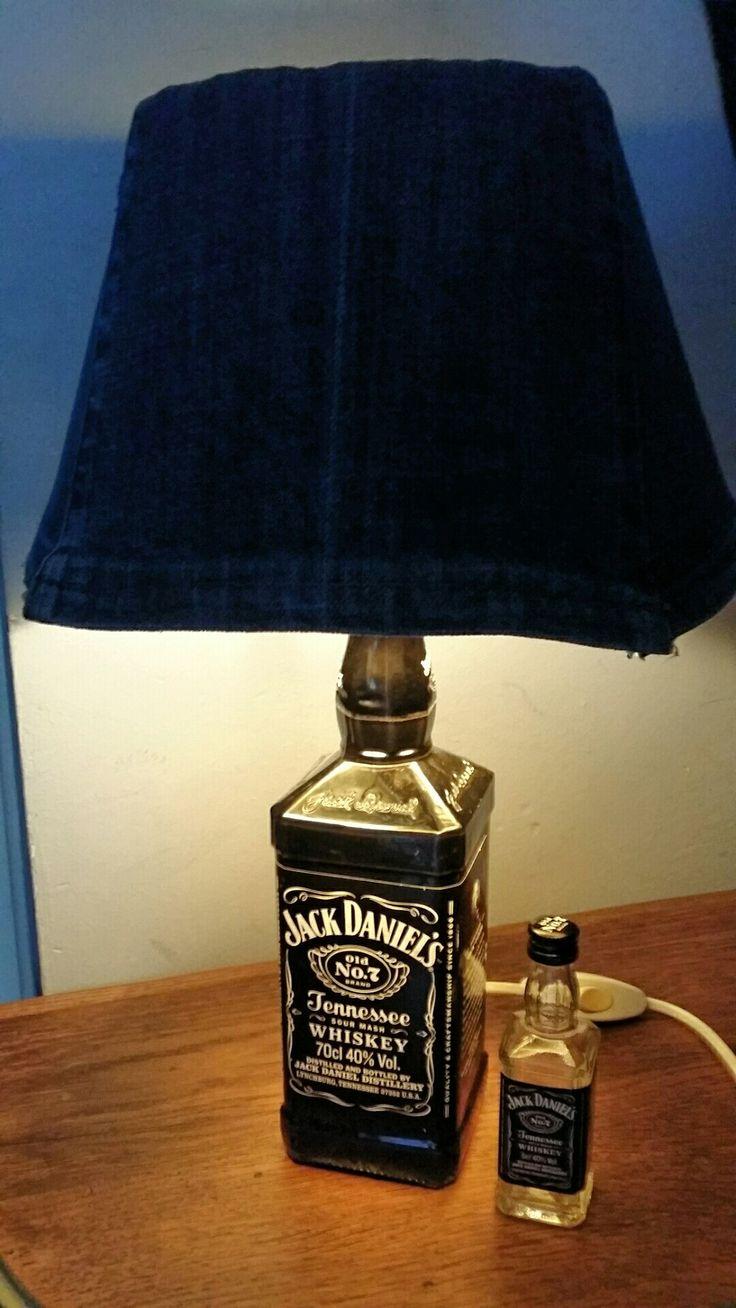 JACK DANIELS fles ♻ ➡ sfeer tafellampje 💡