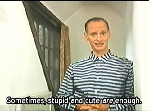 Quotes from the famous mouth of John waters. #johnwaters #johnwatersquote #midnightmovies #trashcinema #undergroundfilms #popeoftrash #princeofpuke #pinkflamingos #femaletrouble #hairspray #divine #gay #queer #baltimore #stupid #cute