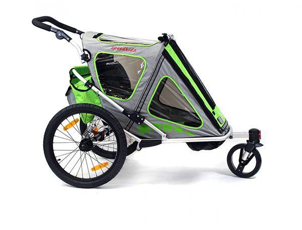 Qeridoo Speedkid2   Remorca de Bicicleta