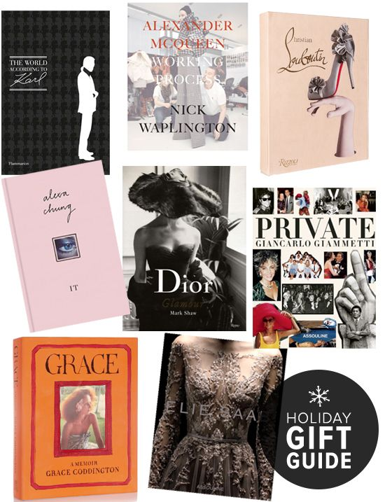Fashion books make the perfect gift for everyone on your list #giftguide