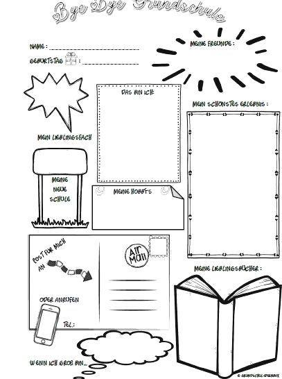 Vorlage Steckbrief Fur Eine Abschlusszeitung Sketch Notes