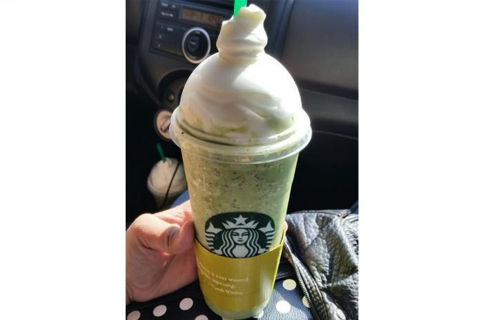 Grasshopper Frappuccino from Starbucks Secret Menu Items and How to Order Them Like a Pro Slideshow