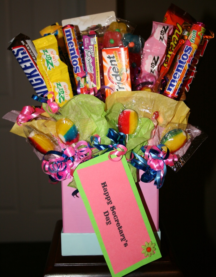 secretary day jamie wise wise soprych what about a candy boquet administrative assistant day. Black Bedroom Furniture Sets. Home Design Ideas