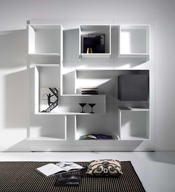 Modern Modular Wall System From MDF Italia   New Vita: Generate Your Own On  The Web. Modern DecorModern WallModern DesignLiving Room ModernShelving ...