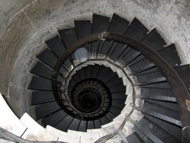 30 best ideas about spiral staircases on pinterest for Stair tower