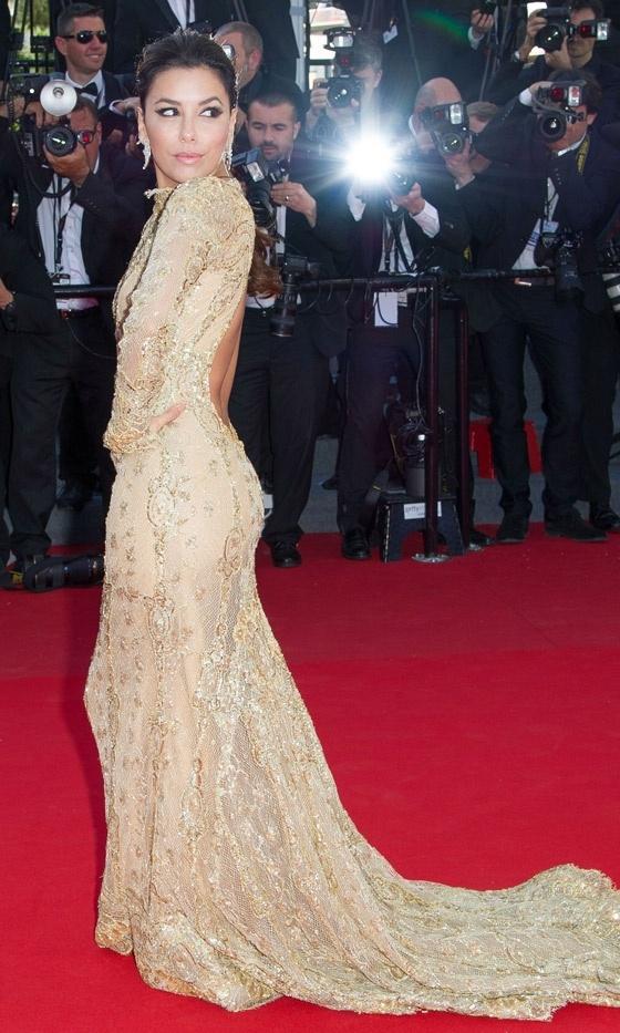 Eva Longoria At The Premiere Of 'The Past' At Cannes Film Festival, 2013
