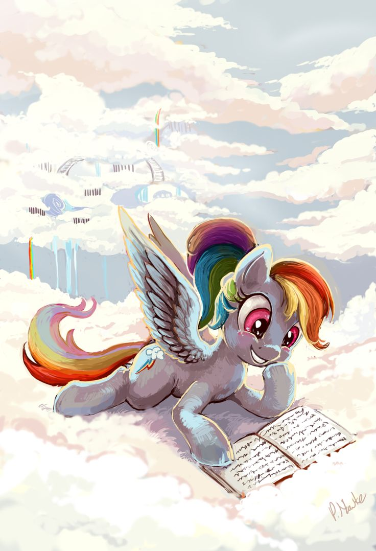Rainbow Dash by The-Keyblade-Pony on deviantART