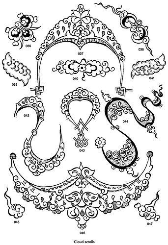 / Diseños orientales / Oriental designs