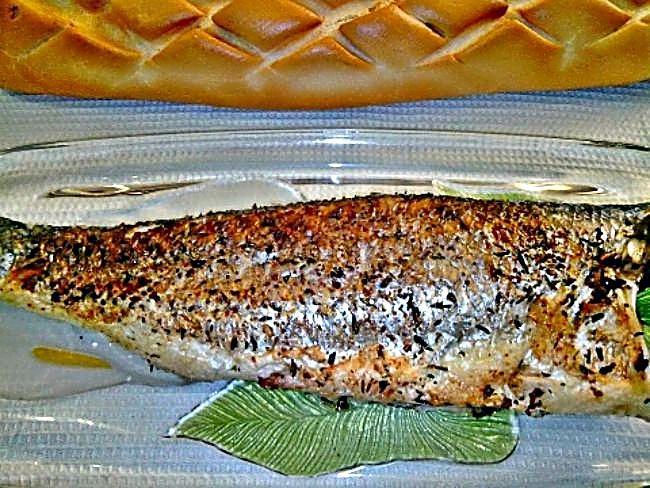 Cocina con Mari: Lubina al microondas/ con receta.