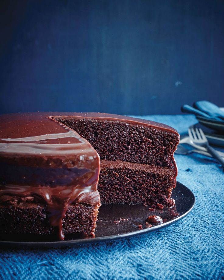 Chocolate Fudge Cake  - Delish.com