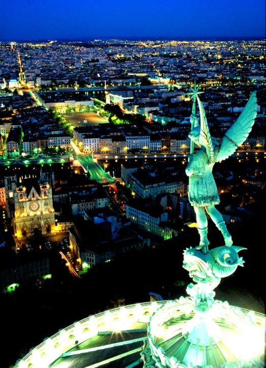 Lyon, France...absolutely beautiful!