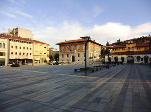 monfalcone, piazza.