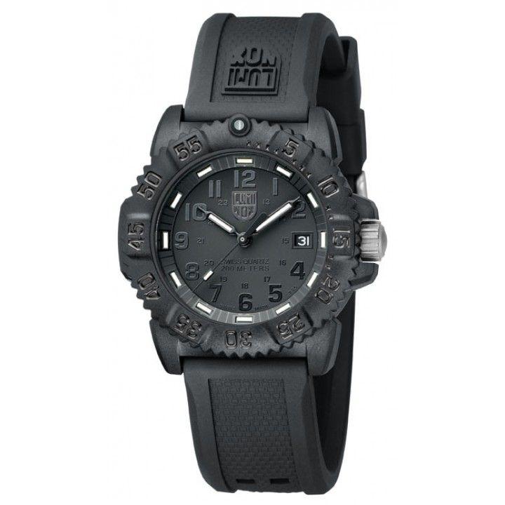 Luminox A.7051.BO Navy Seal Blackout Ladies - Luminox - Tactical Distributors- Tactical Gear