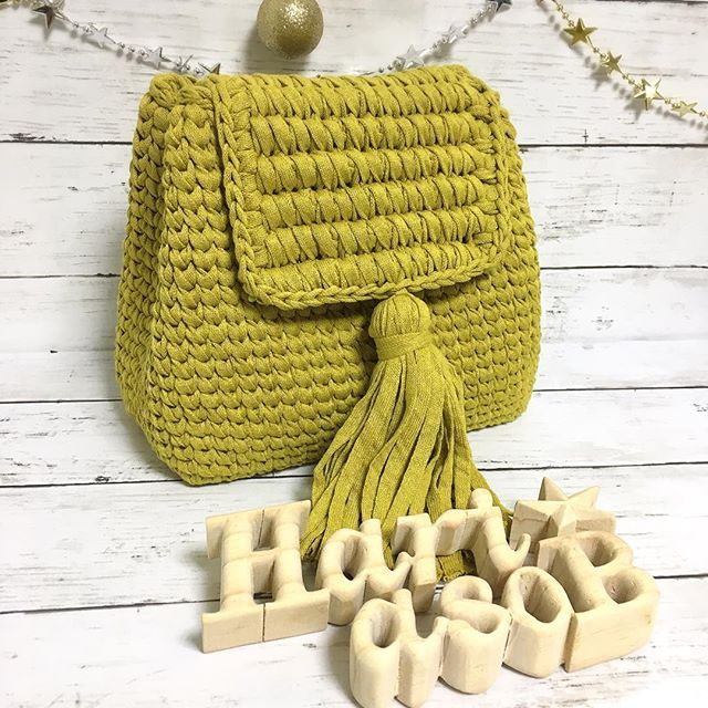 Crochet bag #trapillo