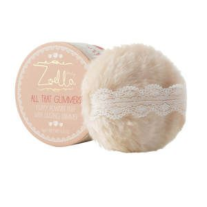 Zoella Fluffy Powder Puff With Dusting Shimmer