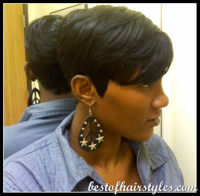 27 piece sew in hairstyles : 27 Piece Hairstyles on Pinterest Short quick weave styles, Short ...