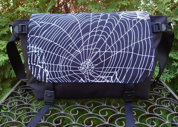 Spider Web Zelda Messenger Bag by Zoe's Bag Boutique