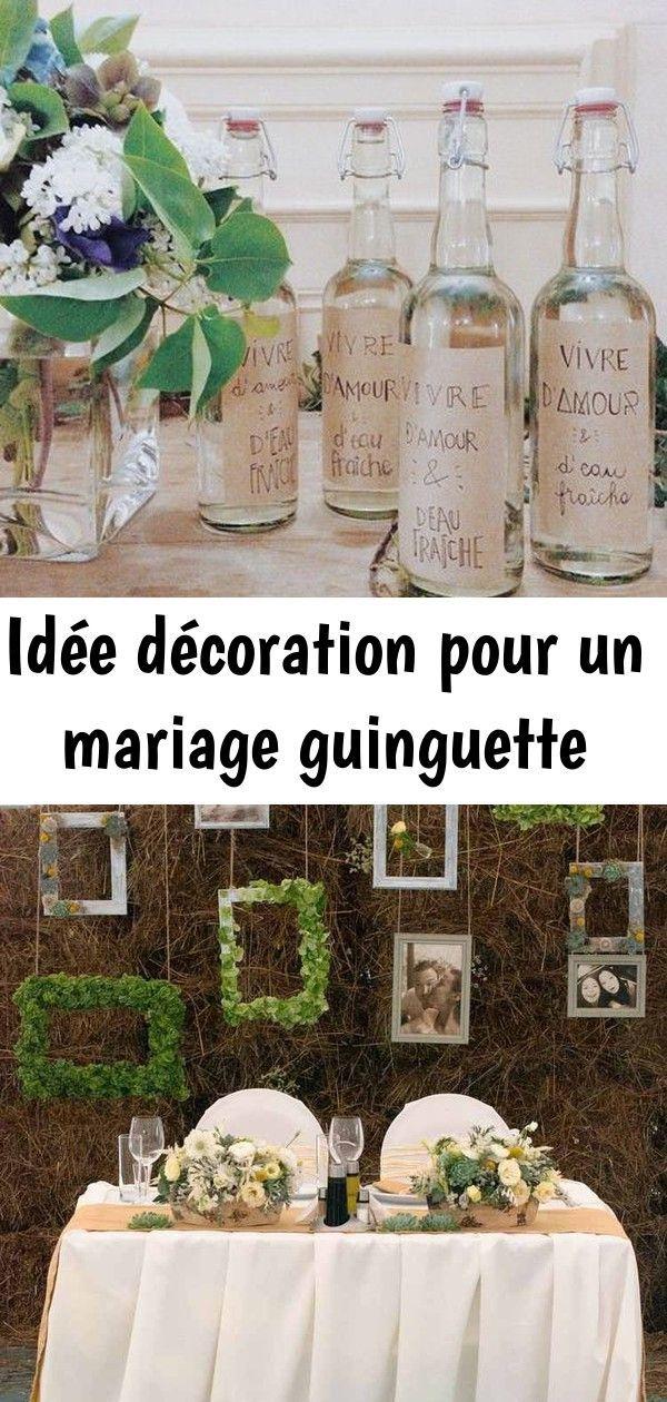 Idee Decoration Pour Un Mariage Guinguette En 2020 Guinguette Decoration Guinguette Mariage