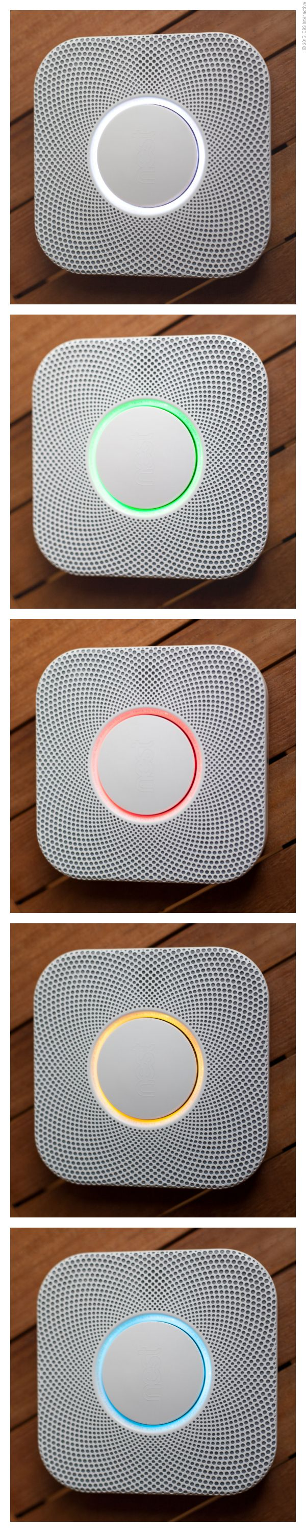 Nest Protect (wi-fi smoke detector & carbon monoxide monitor)