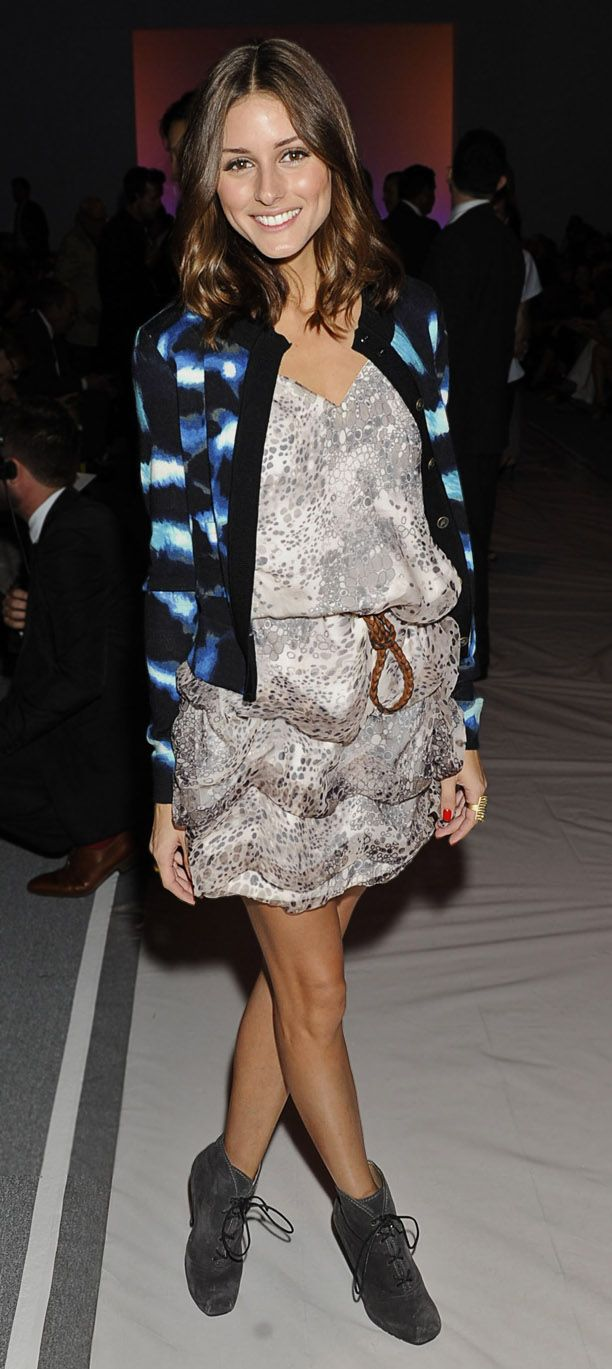 Olivia Palermo attends the Carlos Miele Spring 2011 fashion show