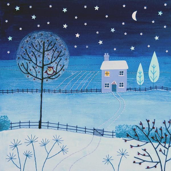 UK ~ Silent Night ~ Josephine Grundy