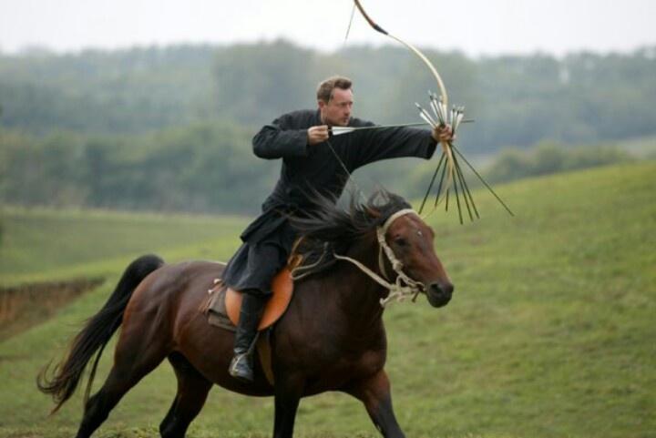 Archer on horseback.