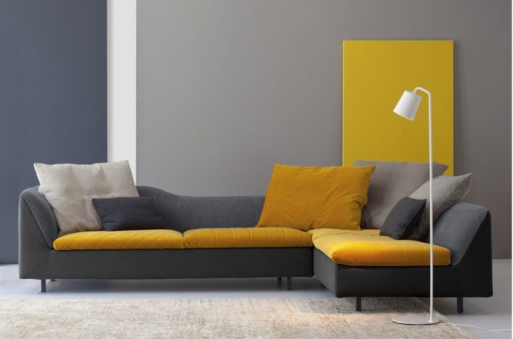 Can I beg, borrow and steal enough for this 'Sinua' sofa from Bonaldo?