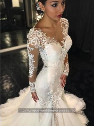 funky wedding dresses - embellished sheath wedding dress.Black wedding gowns with bling 3434660753