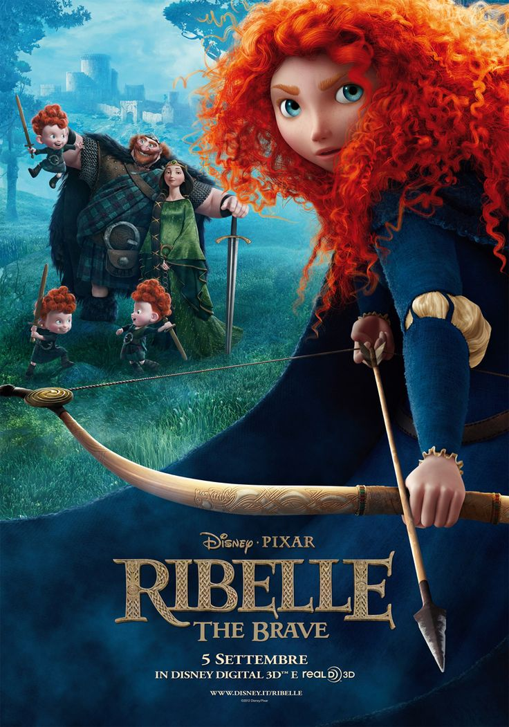 Se il destino vuoi cambiare, dentro devi guardare e lo strappo dall'orgoglio causato riparare - Ribelle - The Brave