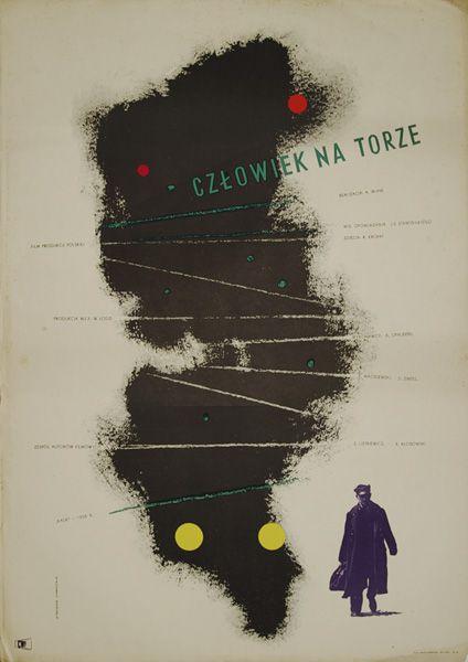 człowiek na torze, 1956
