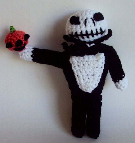 Jack Skellington Doll Knitting Pattern : 17 best images about Nightmare Before Christmas patterns on Pinterest Night...