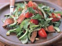 Char-grilled beef salad