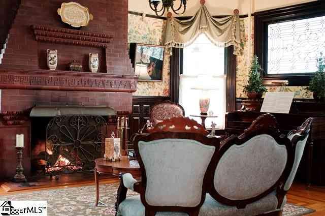 Awesome fireplace