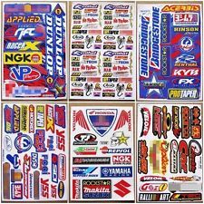 Nos Nitrous Moto-GP Supercross Dirt Rider MX1 Motocross Racing Stickers 6 sheets