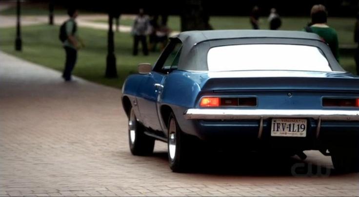Vampire Diaries Damon S Car