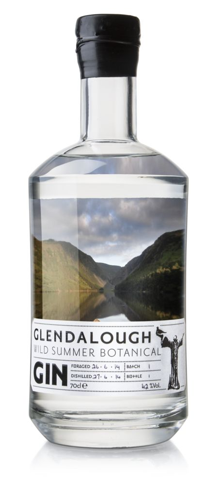 Glendalough Wild Summer Botanical Gin. 42 % ABV. Contemporary. No more than 3,000 bottles each season. Distilled in Holstein copper still. Each season is different, the unpredictable Irish weather resulting in an ever changing array of botanicals, berries and fruit. Each season will bring a different gin with varying taste and style.