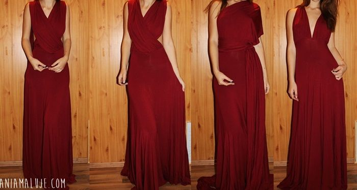 wine red maxi dress, czerwona sukienka maxi