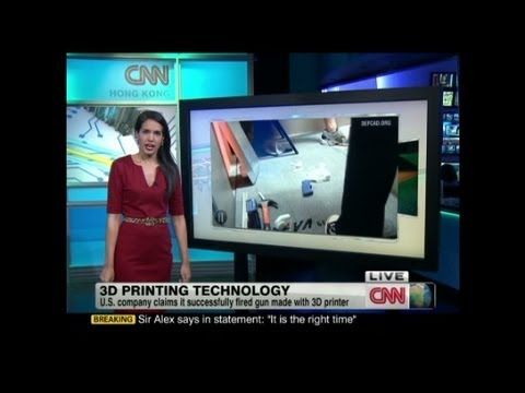 Printing the future in 3D Kristie Lu Stout and NewYorker.com's Nicholas Thompson discuss the potential of 3D printing to change our lives