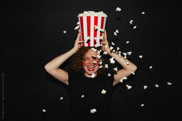 Movie Time! Popcorn? by Studio Firma for Stocksy United