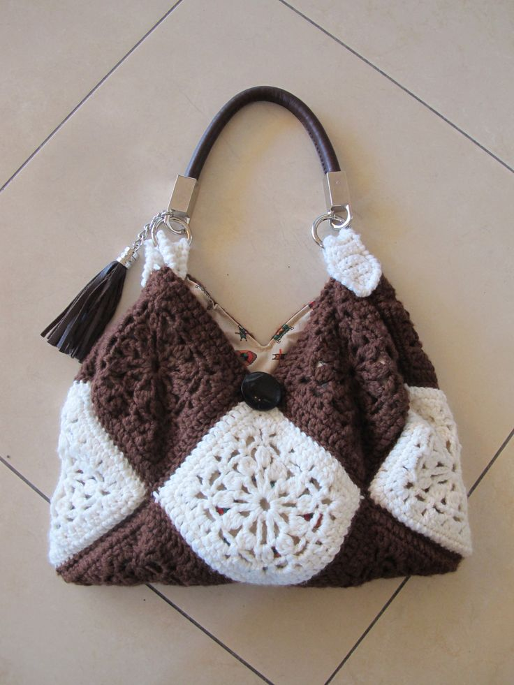 granny square shoulder bag