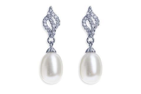 Lisbon Earrings by Ivory & Co