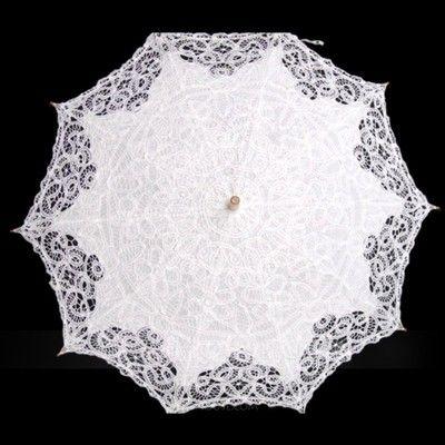 [Kr 392] Bomull Bröllops Paraplyer (124060667)