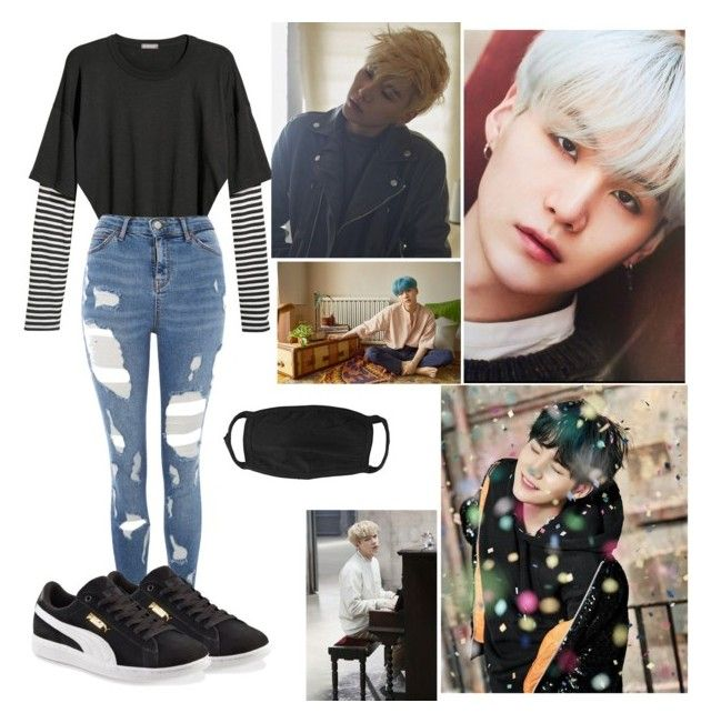 """""""💥 Suga girl Outfit 💥"""" by theo-janickova on Polyvore featuring Topshop and Puma"""