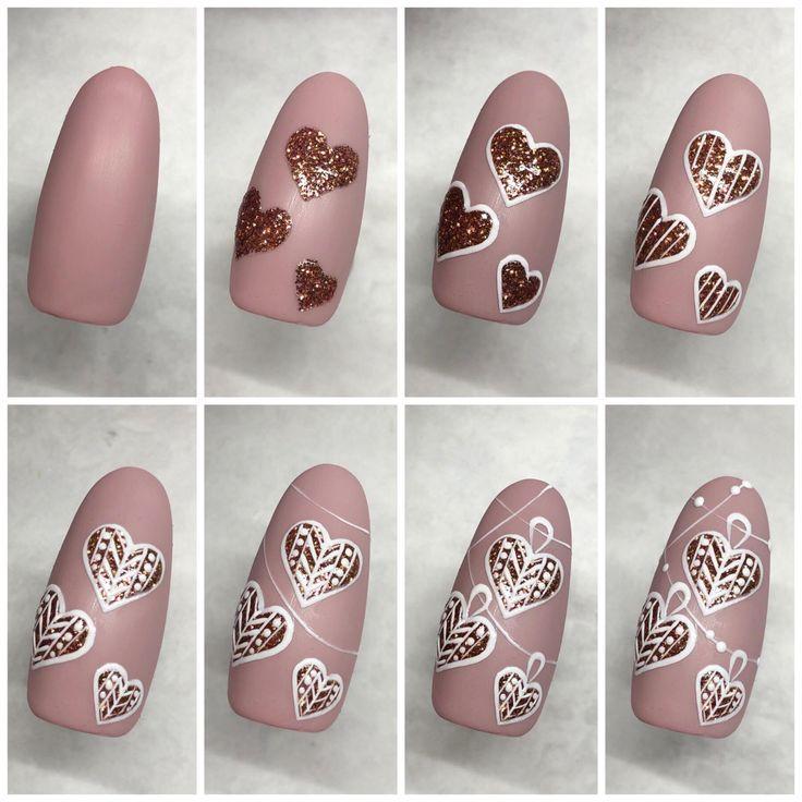 дизайн ногтей поэтапно с картинками ткани, строгие лаконичные