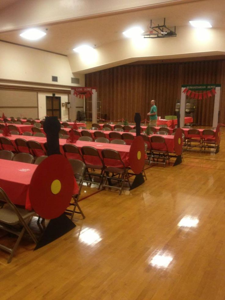 Polar Express Party with Train Tables