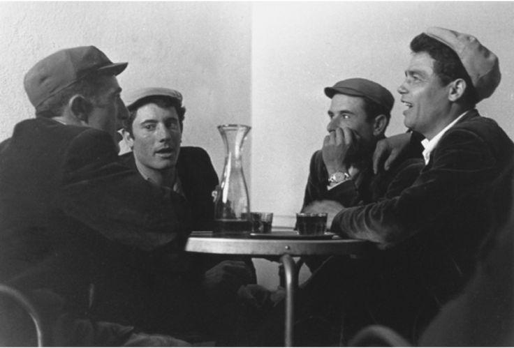 Chants polyphoniques à Orgosolo, Sardaigne, Italie, photo Franco Pinna, 1961